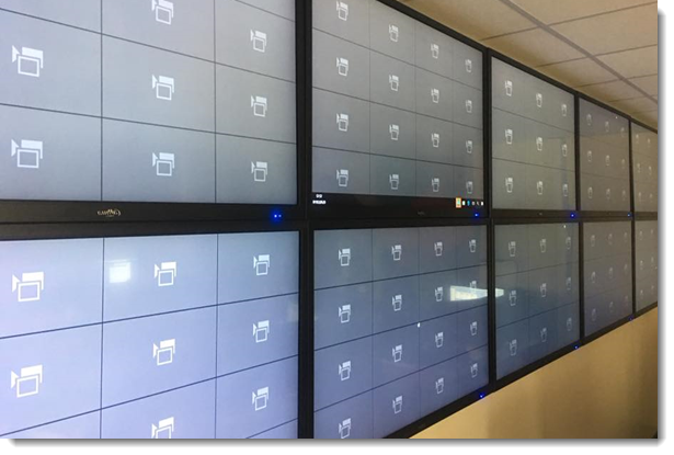 Luxriot EVO Global Video Wall