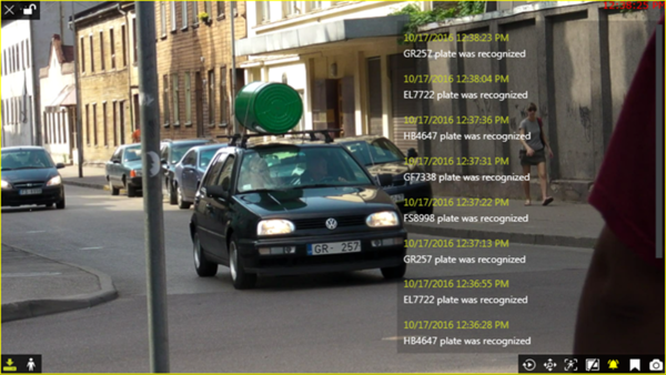 Luxriot Monitor Application with ANPR